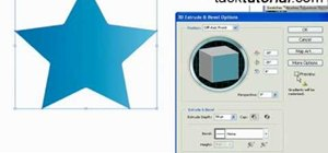 Create a 3D star in Illustrator