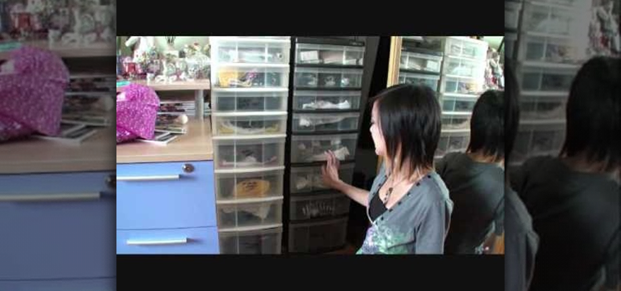 How To Organize A Closet With A Shelves And Compartments
