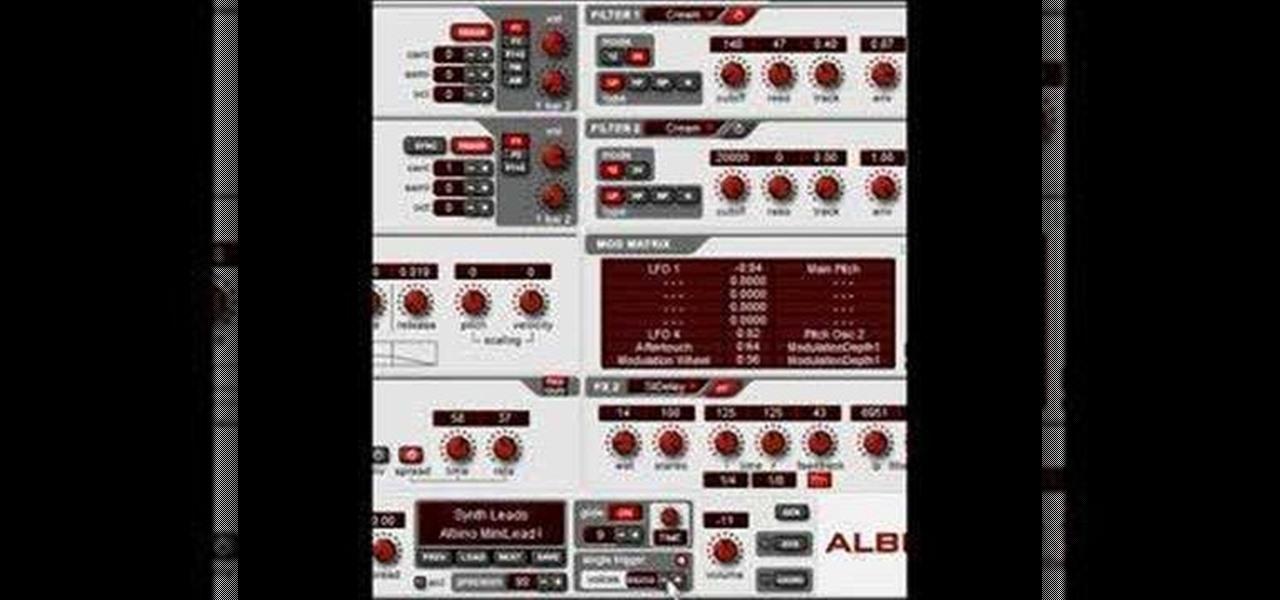 Everything you need to produce full tracks