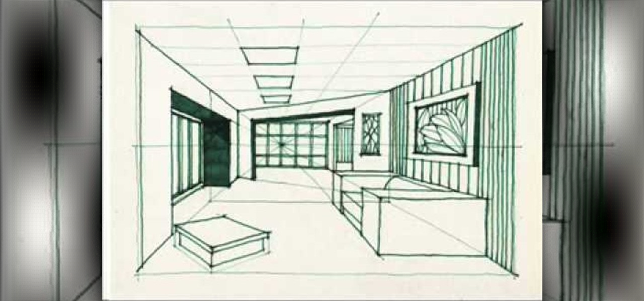 How to Draw a complex room Drawing Illustration WonderHowTo