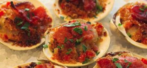 Make Clams Casino Appetizer