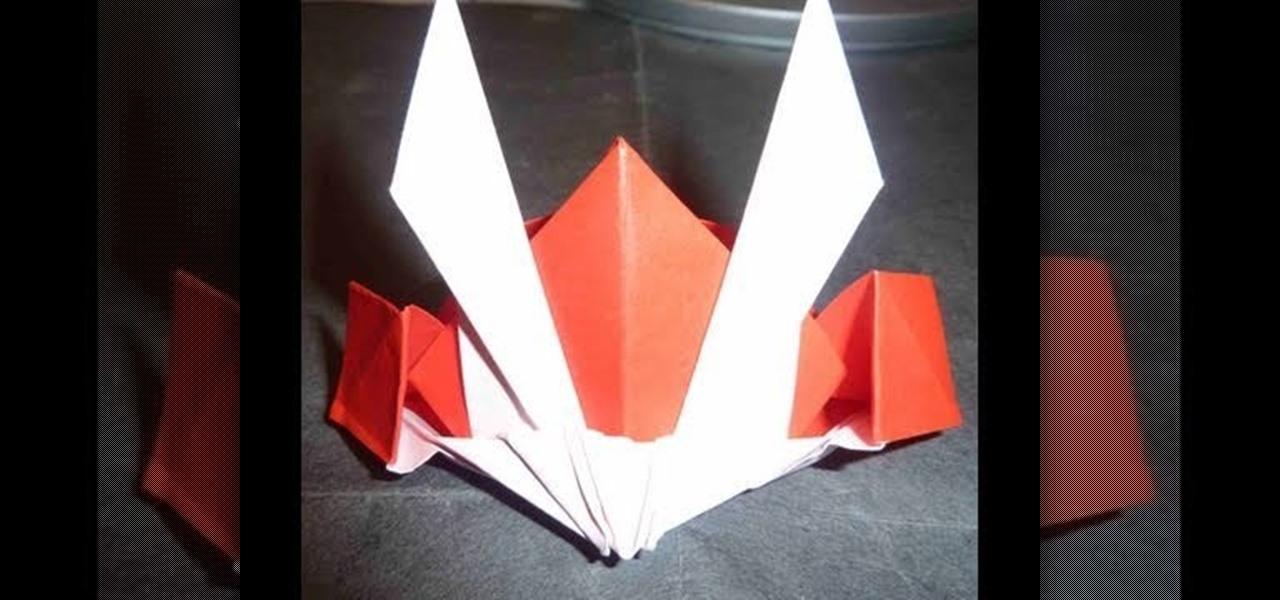 How To Make A Historical Gundam Japanese Shogun Origami Hat WonderHowTo
