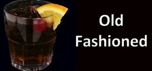 Make a great Old Fashioned cocktail