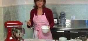 Make creamy vanilla icing