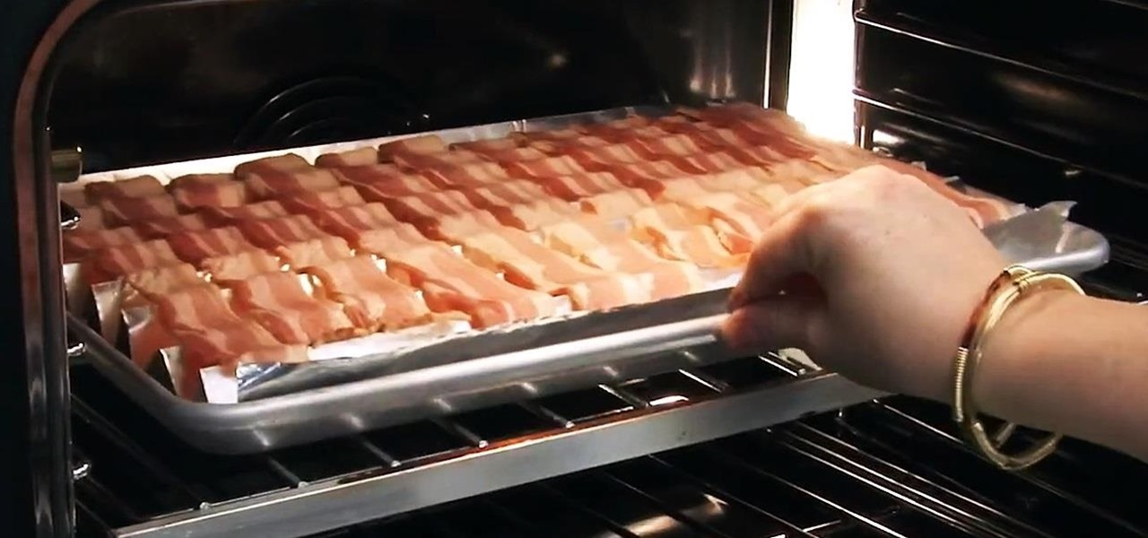 Form a Makeshift Roasting Rack Out of Foil for Crispier & Healthier Oven-Cooked Bacon