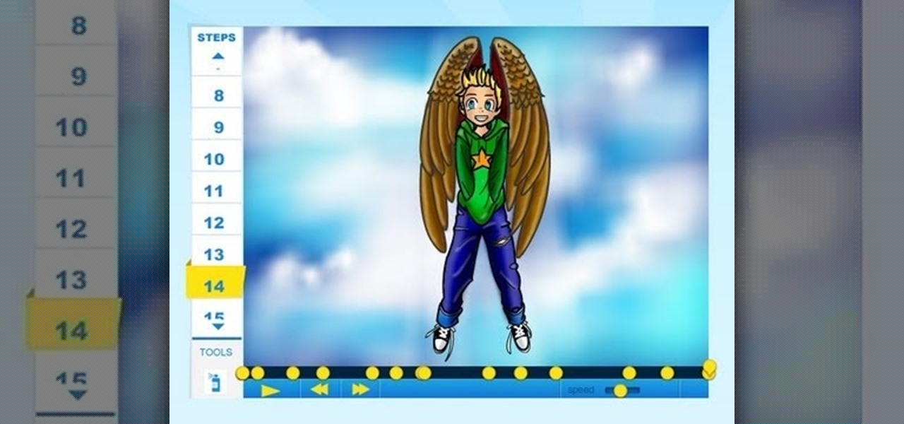 Draw Gazzy (Maximum Ride)