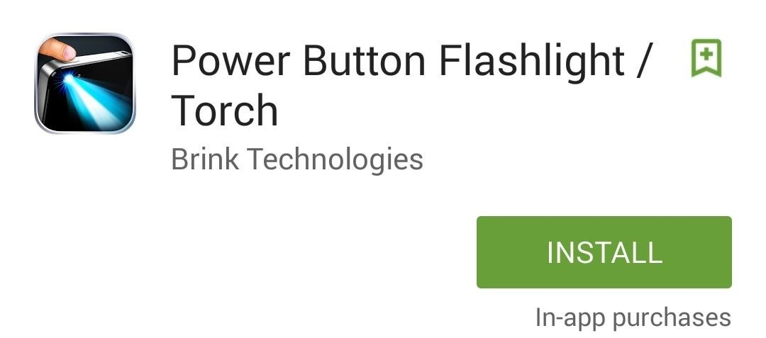 Turn On Your Android's Flashlight Using the Power Button