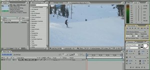 Overcrank 60p footage for a super slow-motion effect with Adobe After Effects