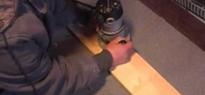 Make a sign using a wood router