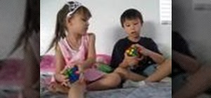 Solve a Rubik's Cube for kids, by kids