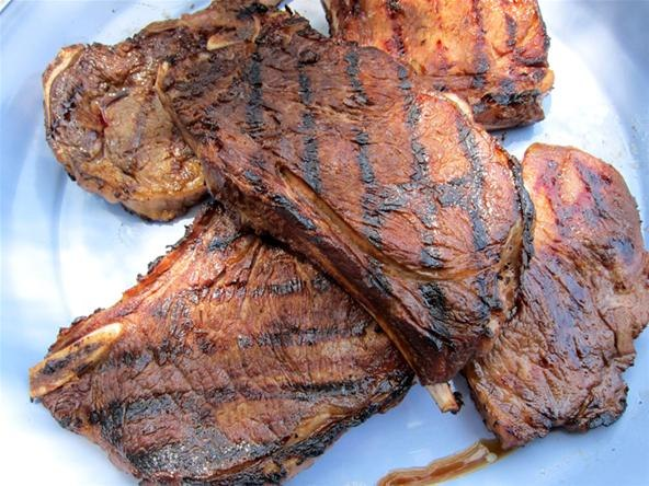 ... Vide Bourbon-Marinated Steaks (Finished on the Grill) « Wild Turkey