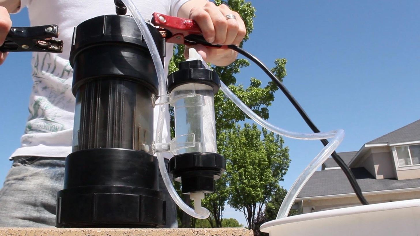How to Turn Ordinary Water into Explosive Gas That Goes KABOOM!