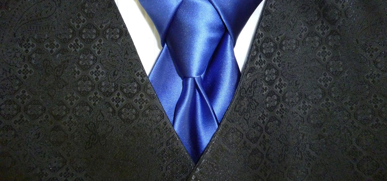 Tie a Merovingian Knot, AKA Ediety Knot for Your Necktie (Animated Guide)