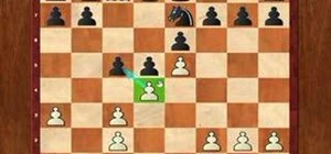 Play the king's pawn vs. the French defense in chess