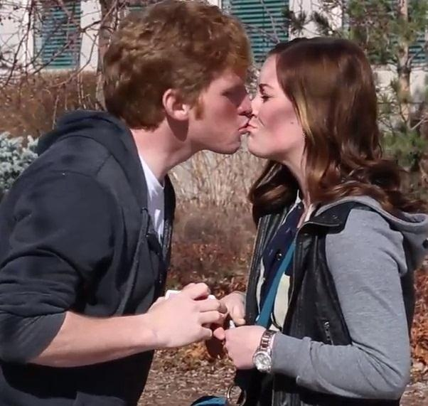 How to get a girl to kiss you on the lips