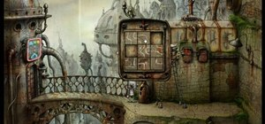 Get through the fifth level in the indie game Machinarium