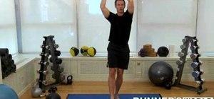 "Do the ""samurai chop"" runner's workout"