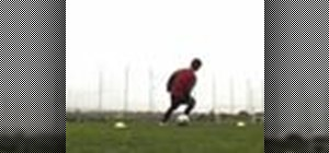 Do the stop turn soccer move