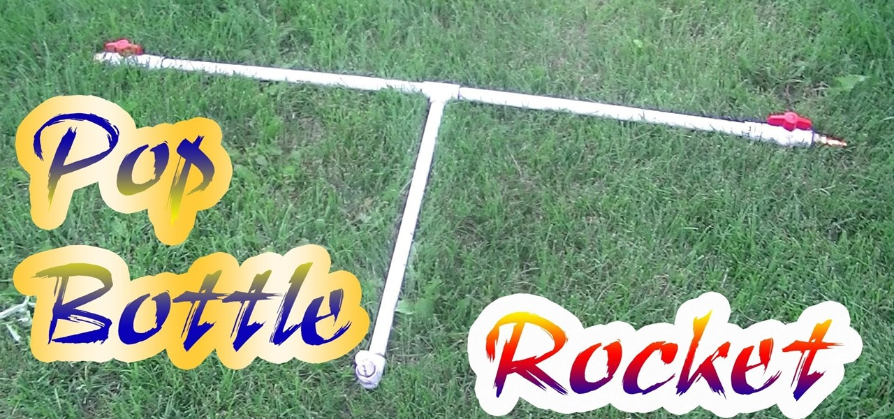 Create the Pop Bottle Rocket Launcher