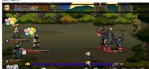 Defeat the Ape King in Ninja Saga on Facebook