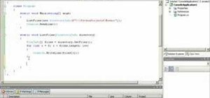 List files in a recursive manner with C#