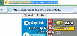 Cheat Restaurant City with Piaip's Hack (11/08/09)