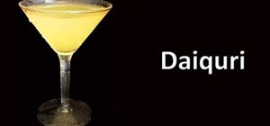Make a rum daiquiri