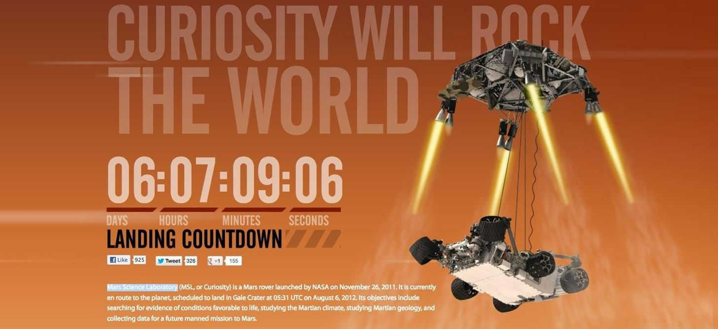 How to Watch NASA's Curiosity Rover Land on the Surface of Mars Tonight (Live Online)