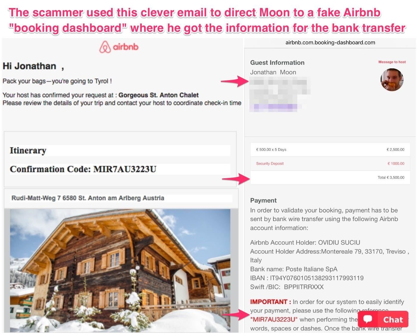 How an Airbnb Listing Scammed $3,700 Out of a Tech-Savvy User