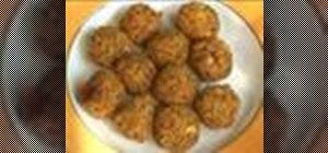 Make falafel