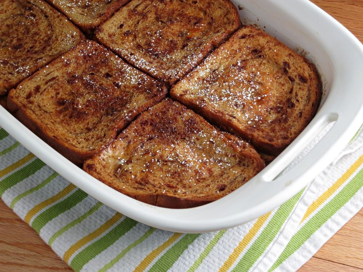 Bake Your French Toast