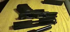 Field strip and reassemble a Glock 19 handgun