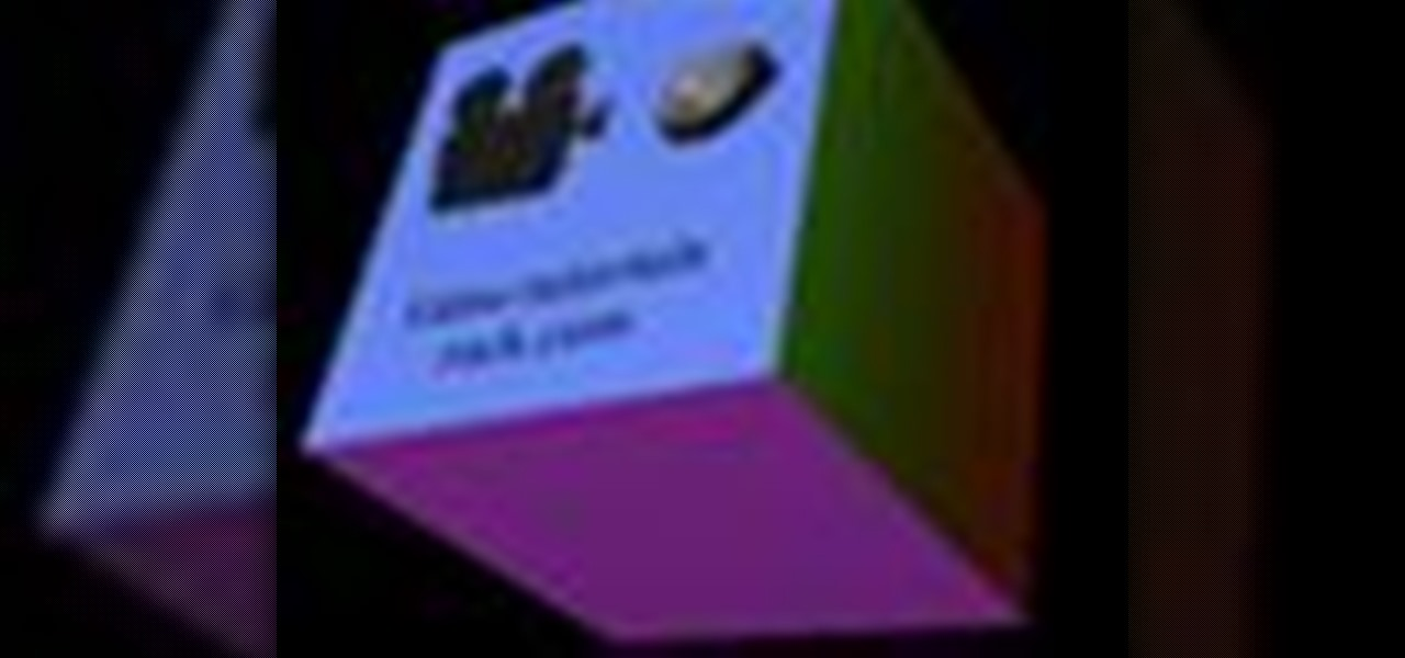 How to Create a spinning 3D cube with OpenGL, GLUT and C++
