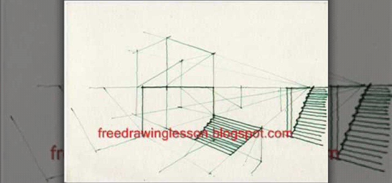 Drawing Room Shelves Room Perspective Drawing