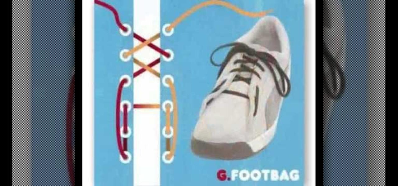 shoe lacing