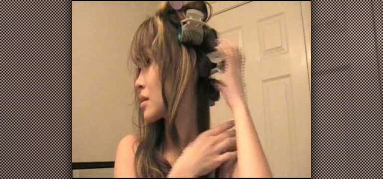 How To Do A Classic Hair Style With Hot Rollers 171 Hairstyling