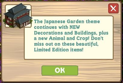 Japan decorations, Daikon crop and Egret update 6/28