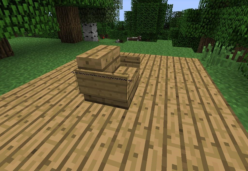 How to make furniture in minecraft minecraft How to make wood furniture