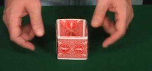 Make a playing card gift box