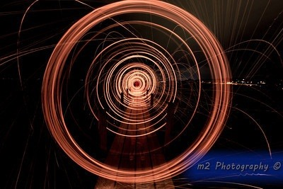 How to Create a Light Painting Vortex Using a DIY Reusable Steel Wool Cage