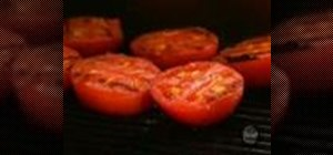 Make garlic grilled tomatoes with Paula Deen