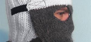 Crochet Gas Mask