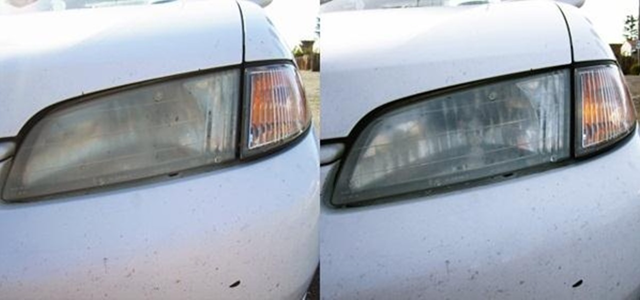 Make Your Headlights Shine with Ordinary Toothpaste