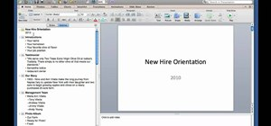 Create and use outlines in Microsoft PowerPoint for Mac 2011