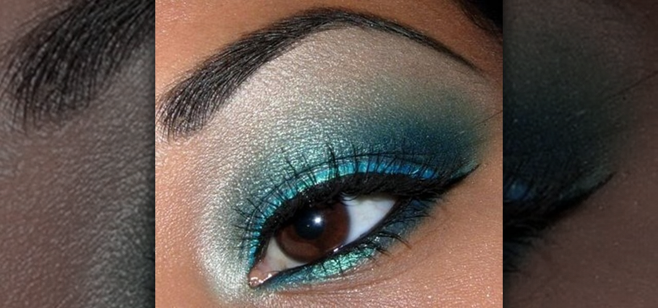 How To Create A Shimmery Turquoise Blue Eye Makeup Look Makeup