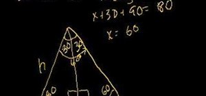 Work with 30°-60°-90° triangles in geometry