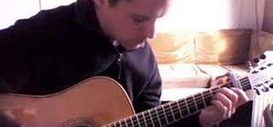 """Play the theme song from """"Friends"""" on acoustic guitar"""