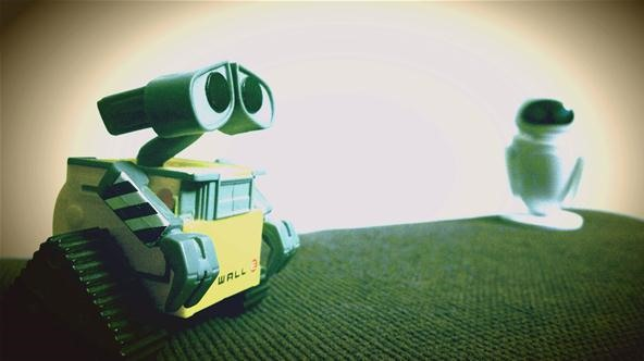 Toy Challenge: Wall-E's Love Story