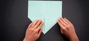 Fold a super easy and quick origami seashell