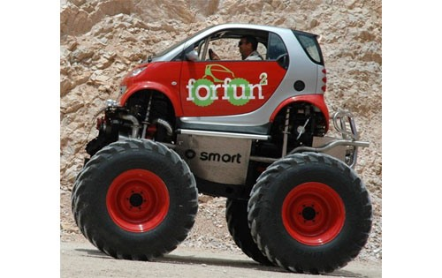 Monster Truck Your Smart Car Car Mods Wonderhowto
